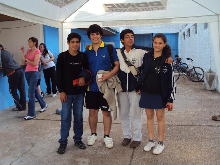 Fabio Huan Pablo Rafael y Rosa Benites