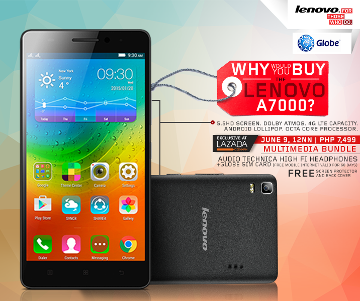 Lenovo A7000 Multimedia Bundle