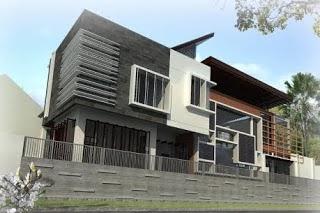 Foto Rumah Minimalis 2 Lantai Type 45