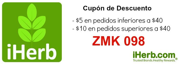 iherb descuento discount code