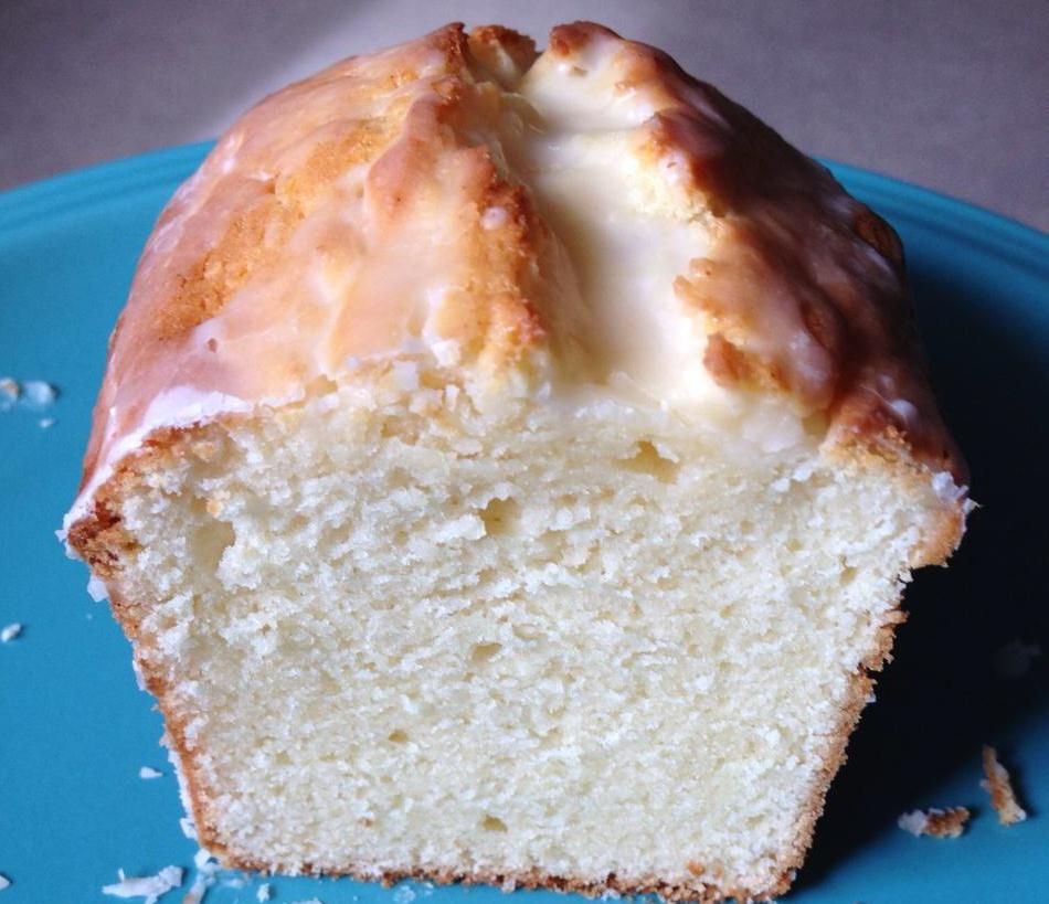 Cupcake Boom: Cream Cheese Pound Cake with Lemon Glaze