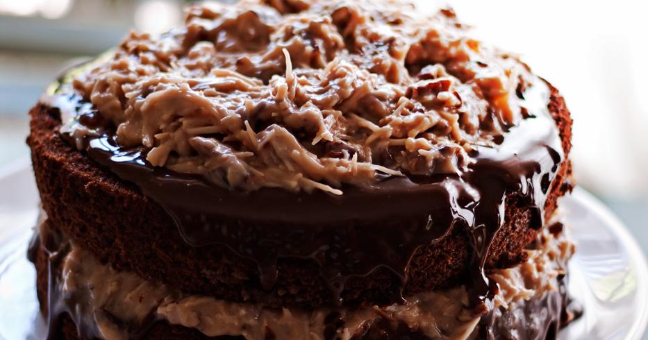 German Chocolate Cake!