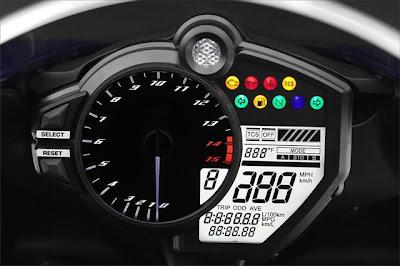 2012 Yamaha YZF R1 Console
