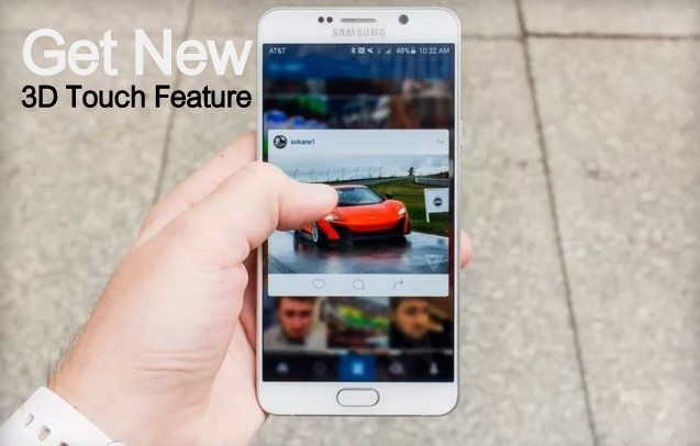 Instagram For Android Got Update with new Apple type 3D Touch Feature : Download APK