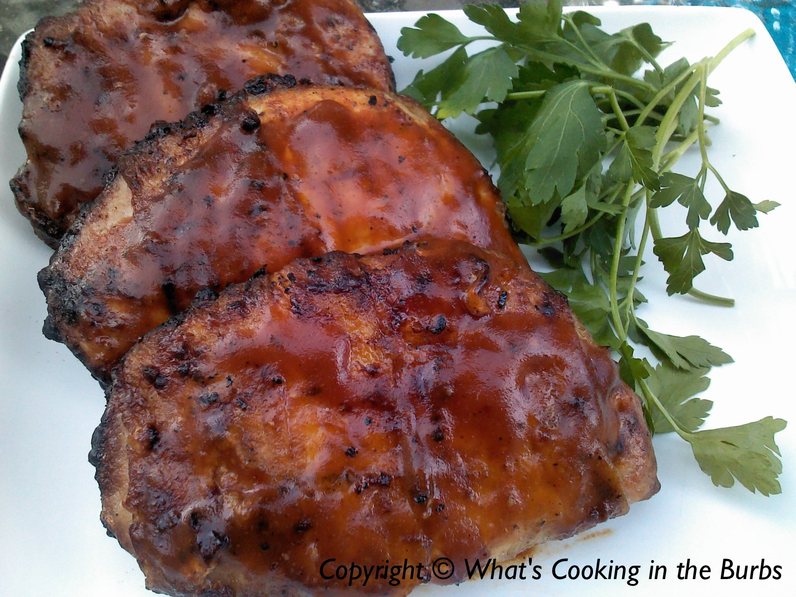 how to cook pork loin chops on bbq