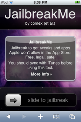 Jailbreakme Application