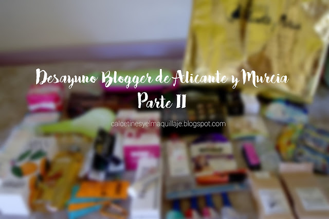 I Desayuno Blogger de Alicante y Murcia . Parte II