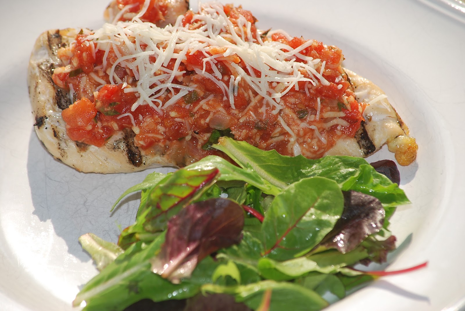 My story in recipes: Grilled Chicken Parmesan