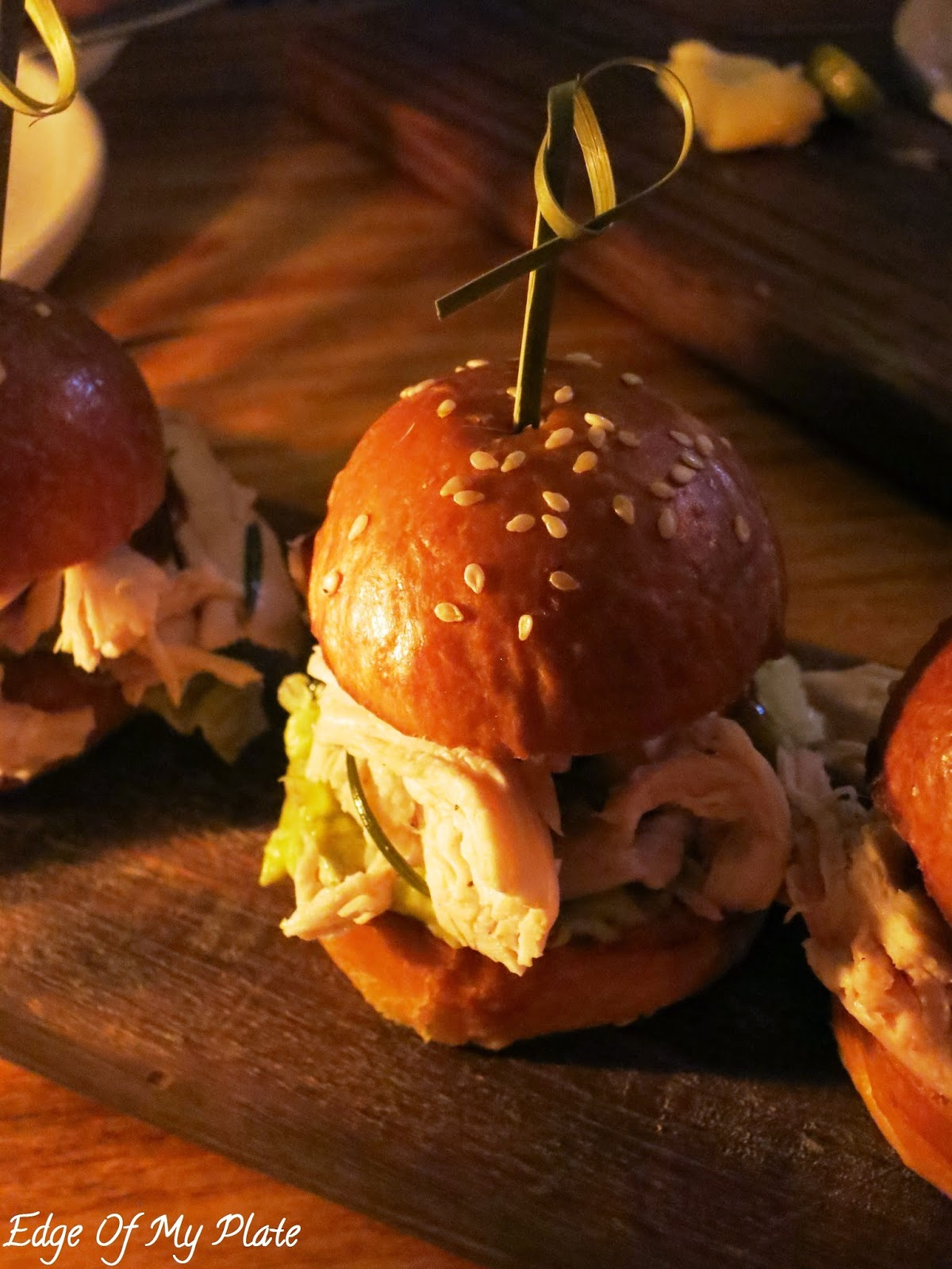 Roasted Chicken Sliders