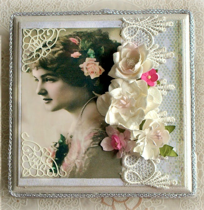 Vintage ladies box