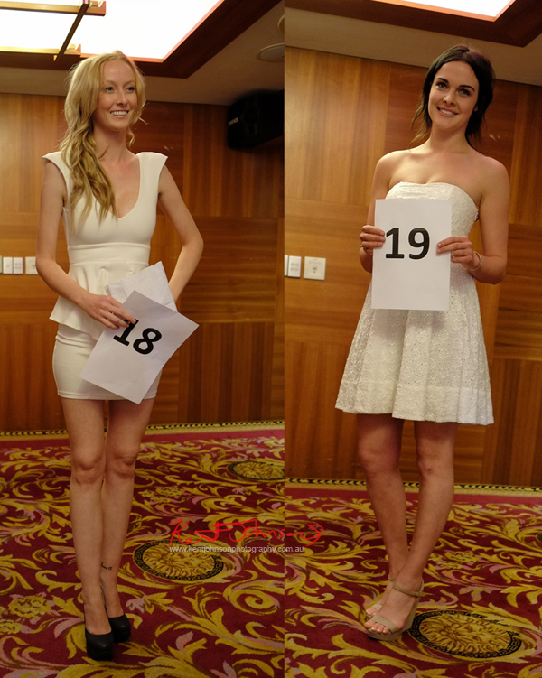 Sarah Stearman, Taylah-Jessica Marsh, Miss Earth Australia - Behind The Scenes 2012