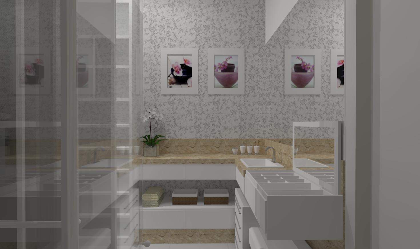 banheiros com closet 1 photo Car Tuning #684D5B 1470x872 Banheiro Com Closet Integrado Pequeno
