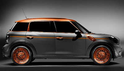 Steampunk MINI Countryman by Carlex Design