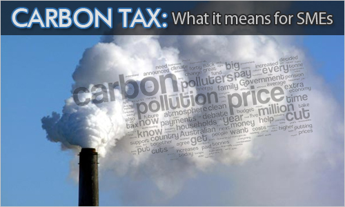Carbon Tax: What it means for SMEs