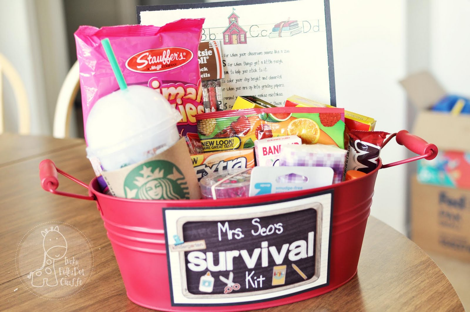 Pics photos funny college survival kit ideas - I Saw The Idea On Pinterest And Had Done A Similar Thing For My Students On The First Day Of School