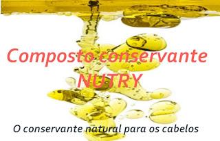 formula nutry para alisamento natural com óleos