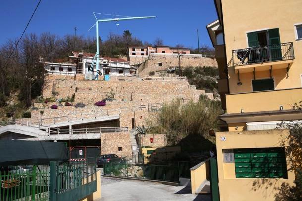Illegal gebaute Villen in Dolcedo