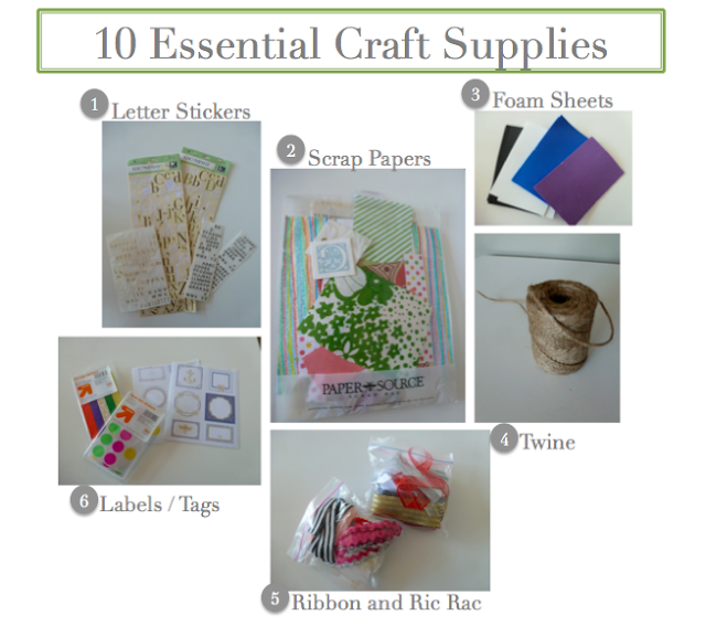 Must have craft tools