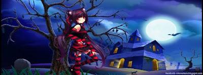 couverture facebook Gothique Halloween