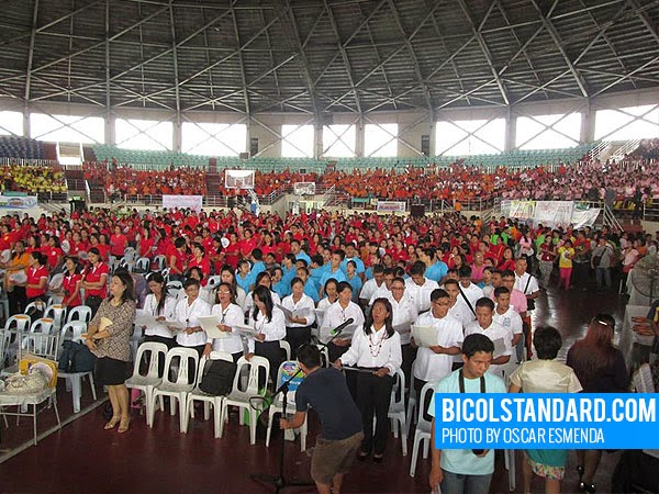 World Teachers' Day 2014 in Naga City, Bicol