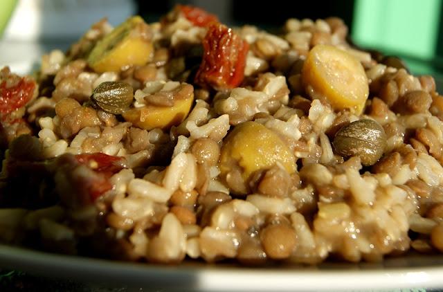 Soczewica z ryżem