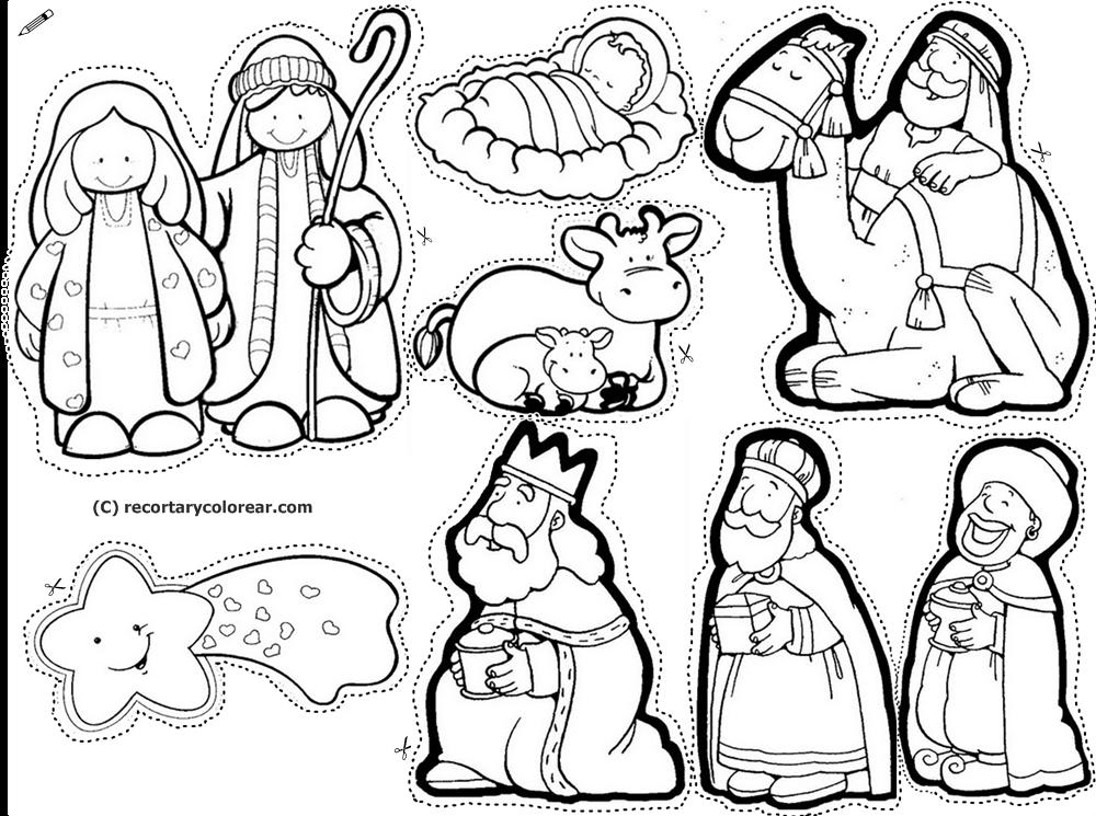 Dibujos para colorear del nacimiento de jesus fabulous - Dibujos de nacimientos de navidad ...