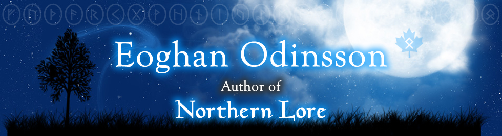 Eoghan Odinsson - Author of Northern Lore