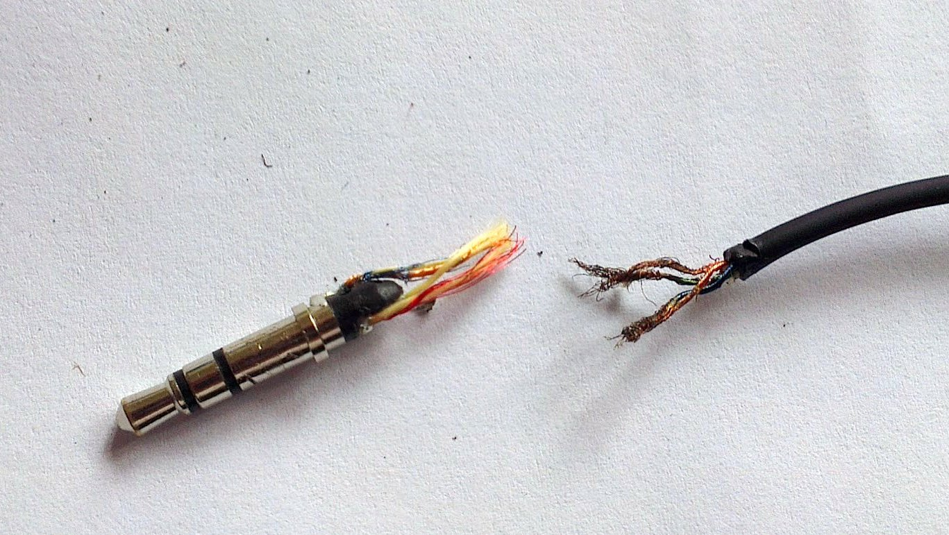 Sennheiser 3.5mm Connector Repair | Hacks, facts and rants