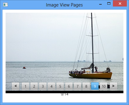 Display images on JavaFX Pagination Control