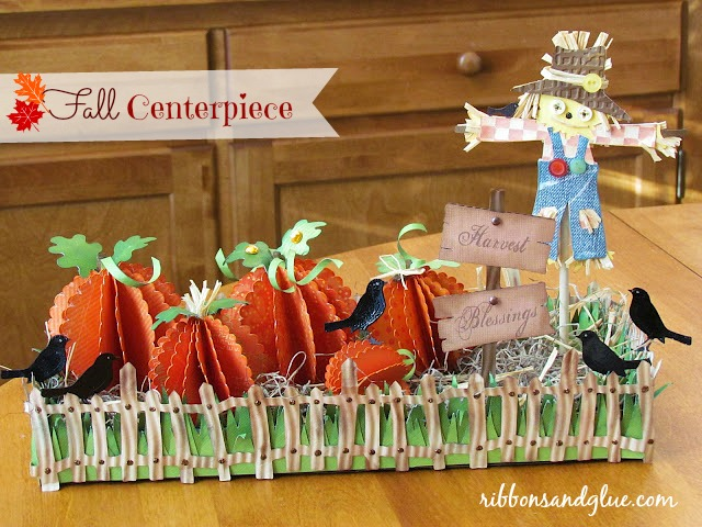 Fall Scarecrow Centerpiece