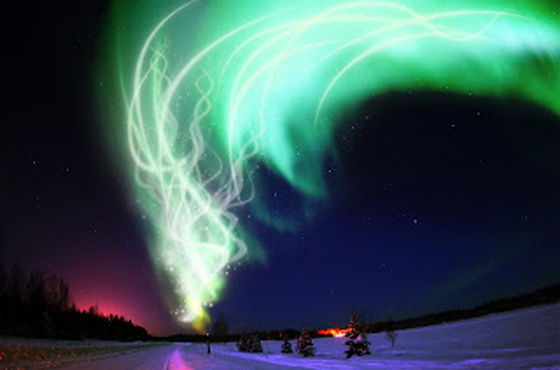 Tempat Melihat Aurora Indah
