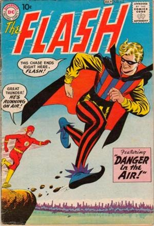 The Flash #113 comic book cover