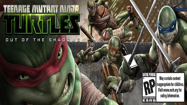 tmnt out of the shadows game trailer