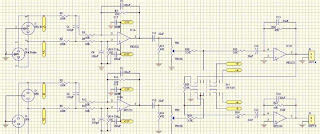 Balanced Audio Amplifier Schematic and PCB