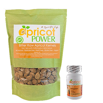 Order apricot seeds & B17