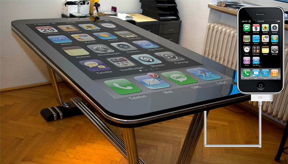 Creative Gadget Tables And Cool Gadget Table Designs (15) 5