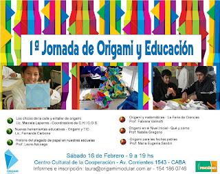 1a Jornada de Origami y Educación