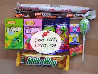 cyber candy haul