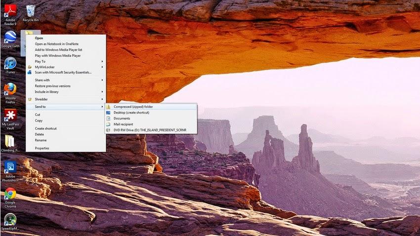 Create a Zip Folder