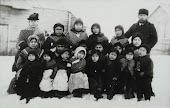 Thomas Bridges con un grupo de yaganes