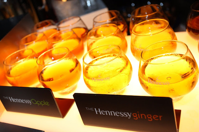 Remember to check out signature Hennessy V.S.O.P. long drinks