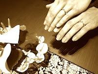 世界にひとつだけのデザインでマリッジリング(結婚指輪)が出来上がりました。