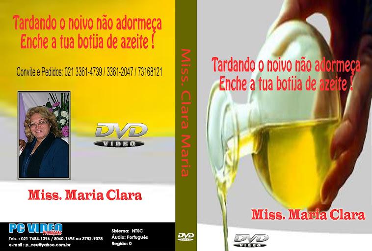 DVD da Missionária CLARA MARIA