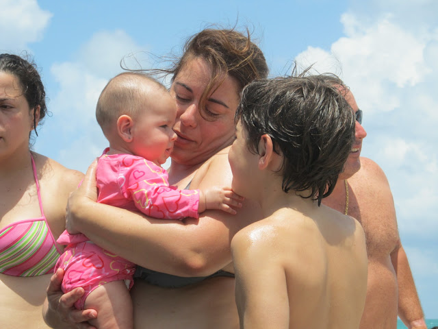 Miami beach,baby girl,pink