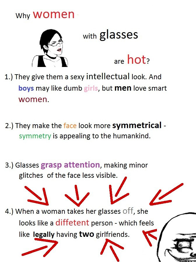 The Reasons Why Women With Glasses Are Hot