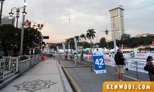 kl marathon 2012 morning