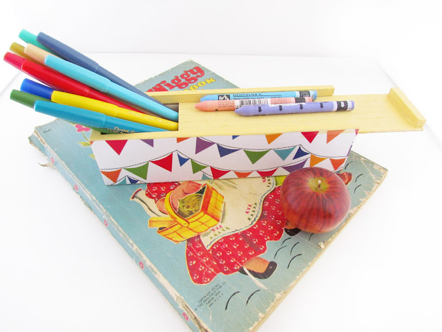 Banners Pencil Box by Silva Ware