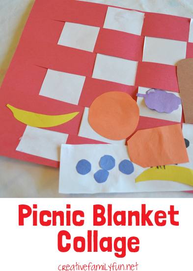 Picnic Blanket Collage Creative Family Fun