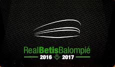 Mi carnet del Betis Temporada 2016-17