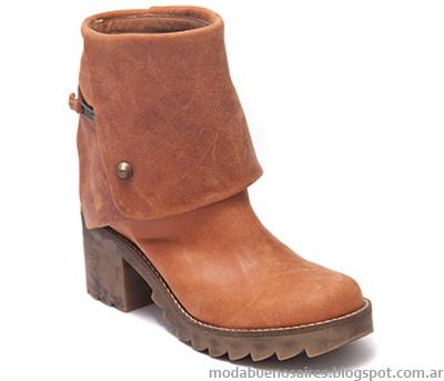 Botas de moda invierno 2014 colección Traza calzados.